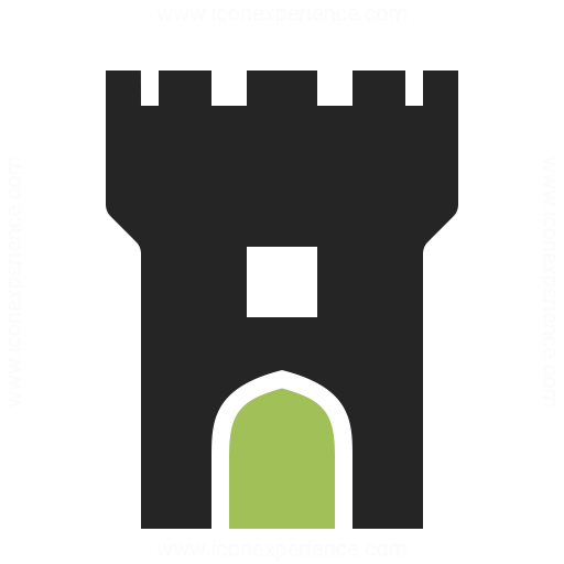 Fortress clipart tower Collection Icon » Tower »
