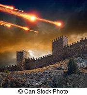 Fortress clipart tower And Dramatic Illustrations background free