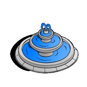 Fountain clipart Fountain Symbols: Download Clip RPG