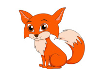 Red Fox clipart Little clipart Clip Fox Kb