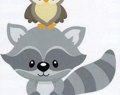 Raccoon clipart woodland Clipart Raccoon Raccoon Baby Baby