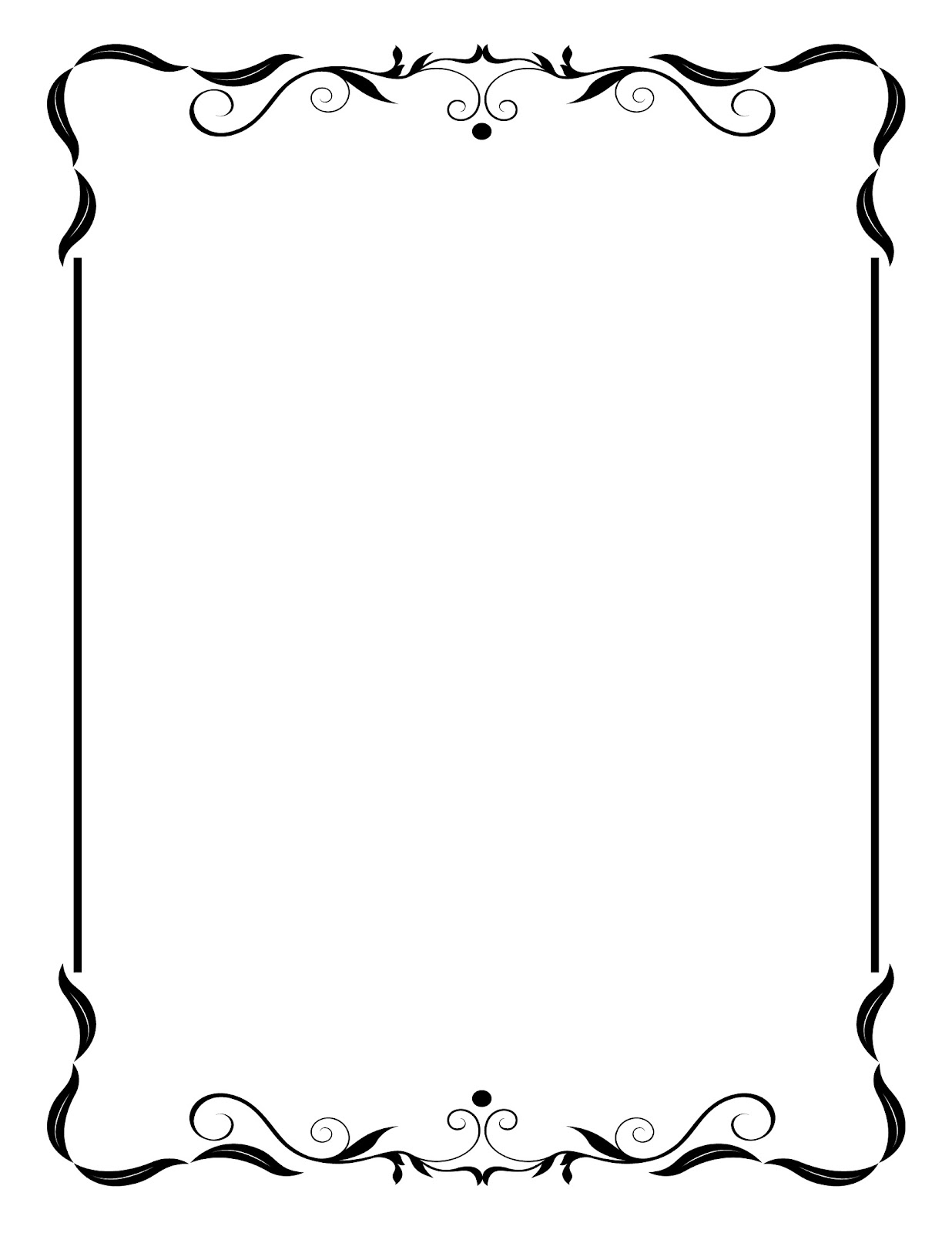 Simple clipart picture frame #6