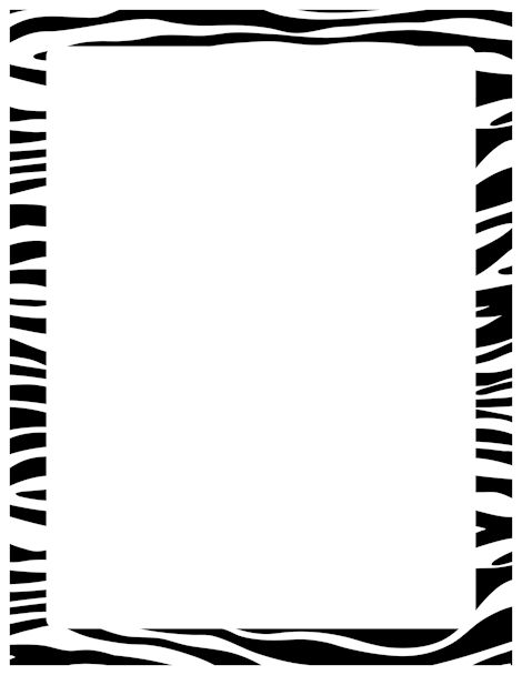 Frame clipart animal print Pinterest Free 185 http://pageborders at