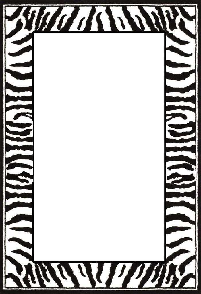 Tiger Print clipart jungle animal #9