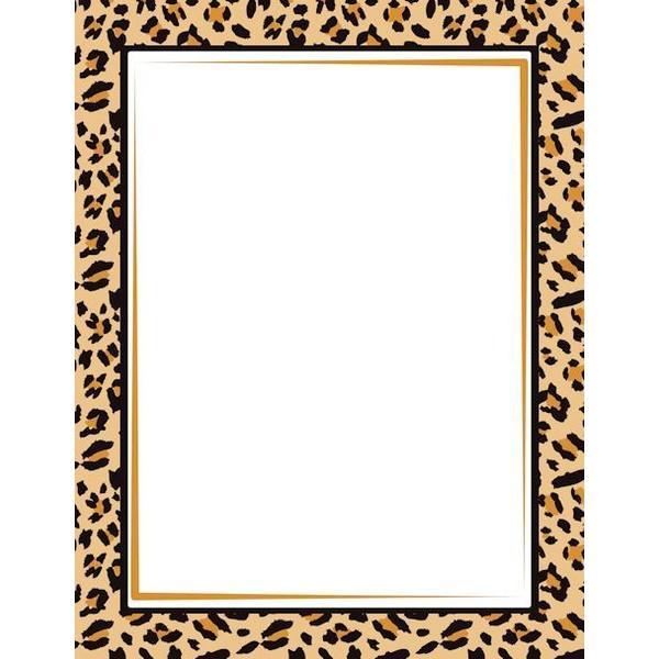 Frame clipart animal print Border Graphics Art Art liked