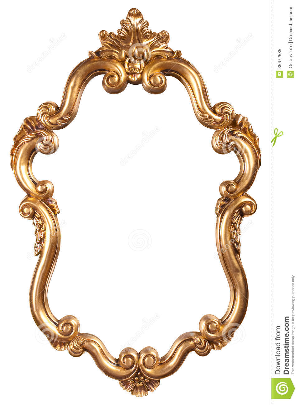 Mirror antique%20frame%20clipart%20gold Google Pinterest golden