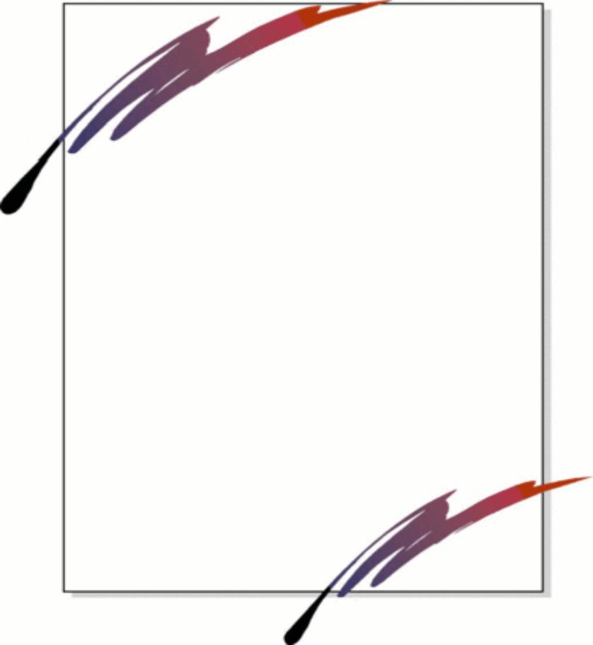 Pen clipart border Clip  Free Free Art