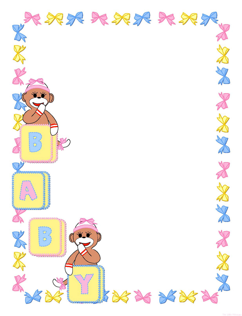 Templates  clipart baby #4
