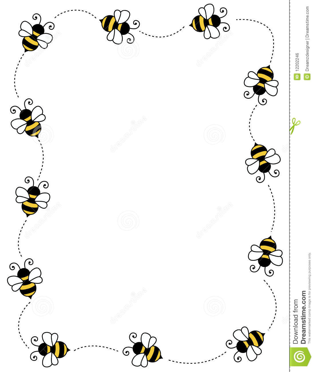 Background clipart bee With bumble background  on