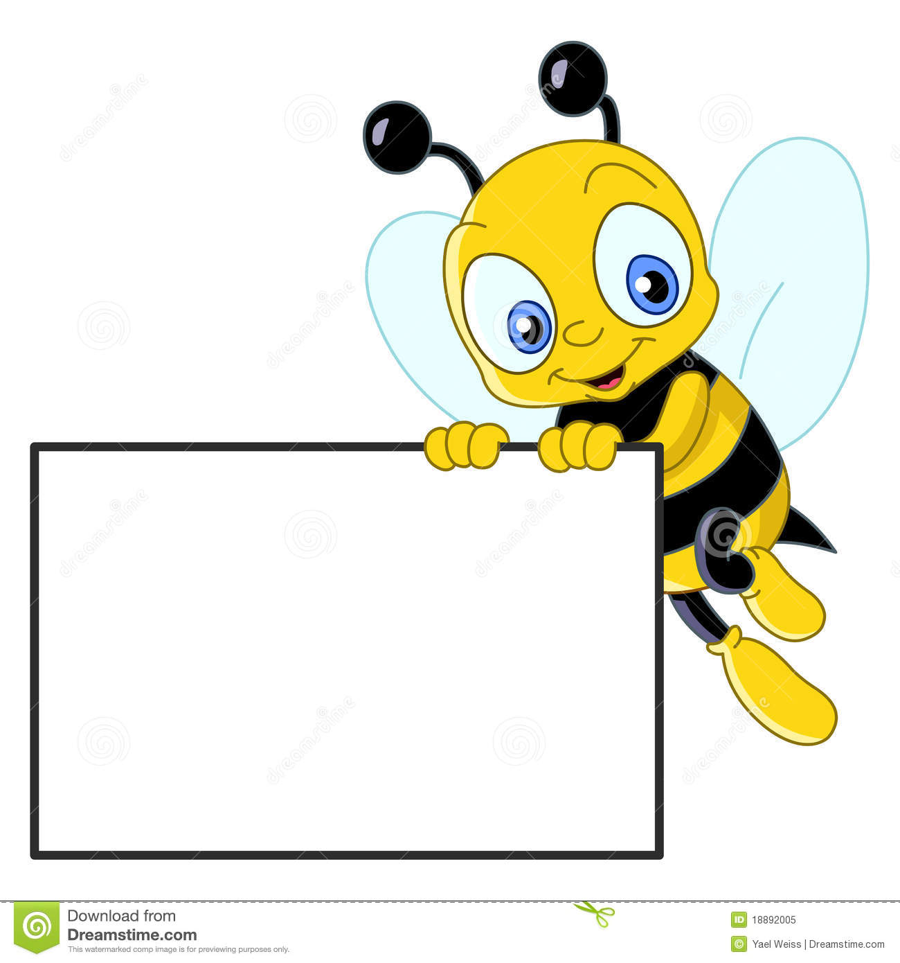 Background clipart bee Royalty bee Bee clip collection
