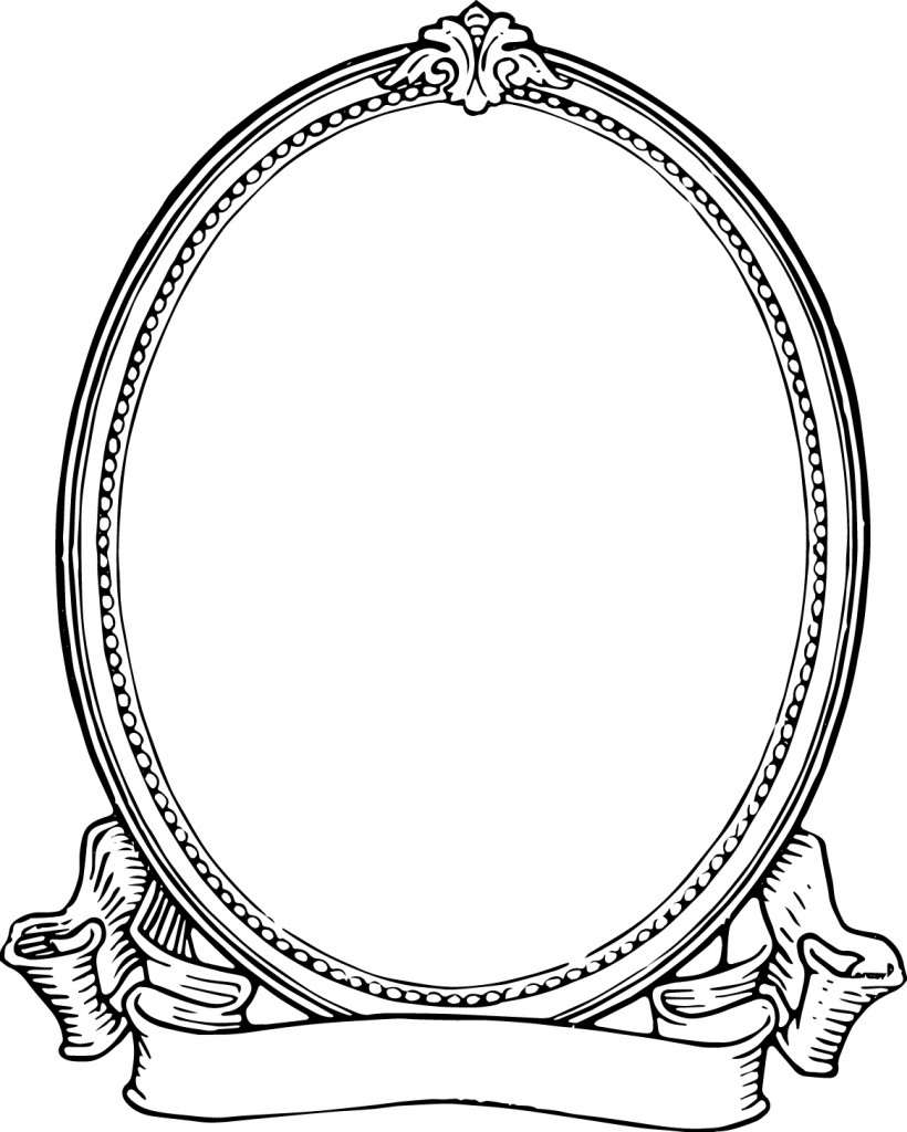 Frame clipart black and white White For Vintage Frame Photo