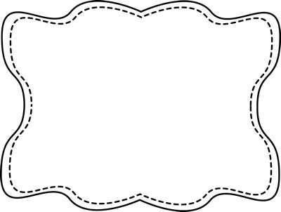 Frame clipart black and white Clipart Black Borders clip collection