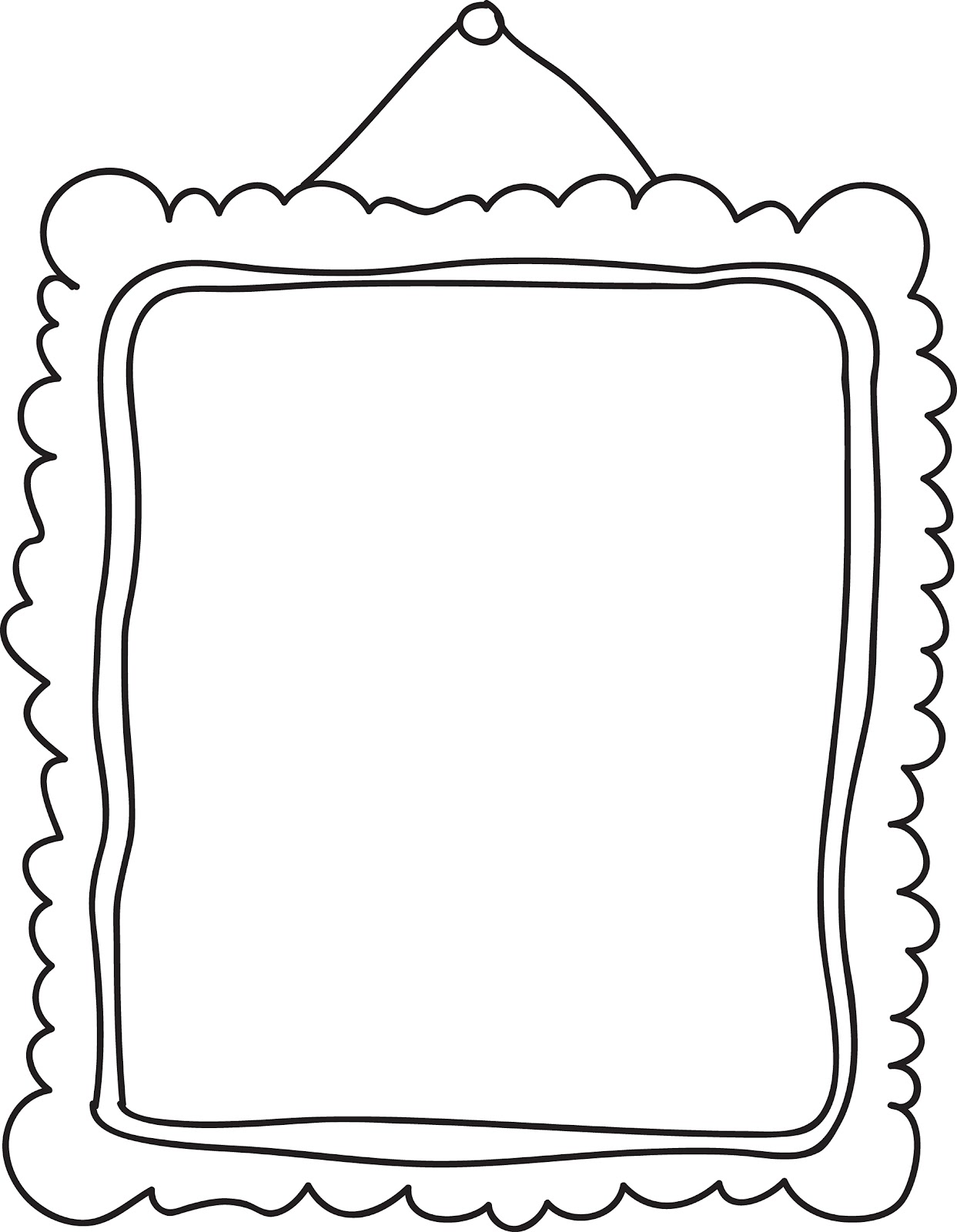 Frame clipart black and white Art And Black Free Clipart
