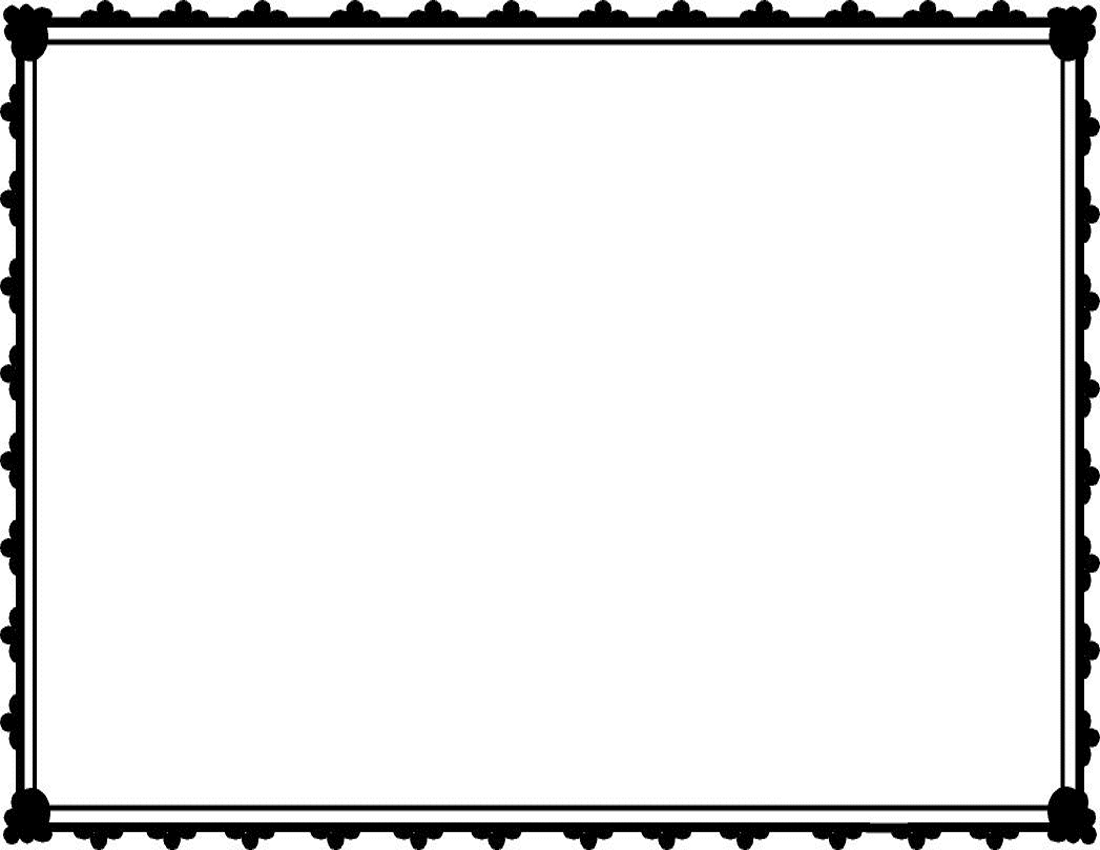 Square clipart black border Free free clip free frame