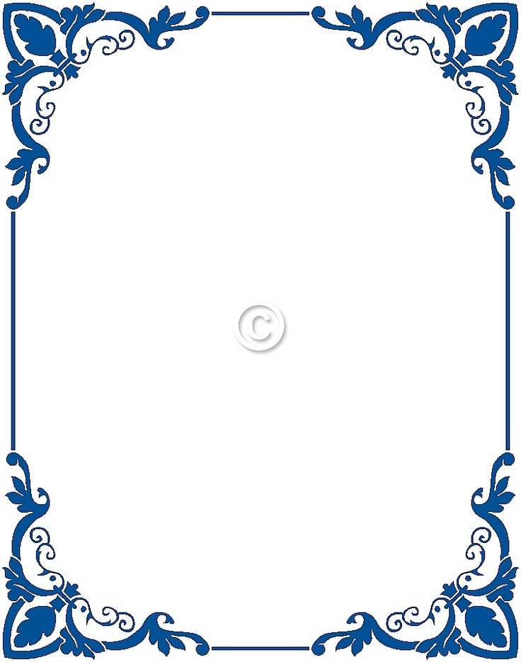 Covered clipart border Frames printable educational frames vintage