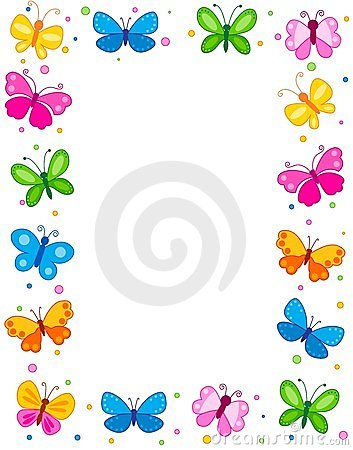 Frame clipart butterfly Decorative Pinterest  borders Best
