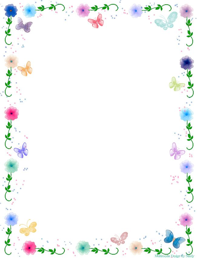 Frame clipart butterfly More 예쁜 :: 네이버