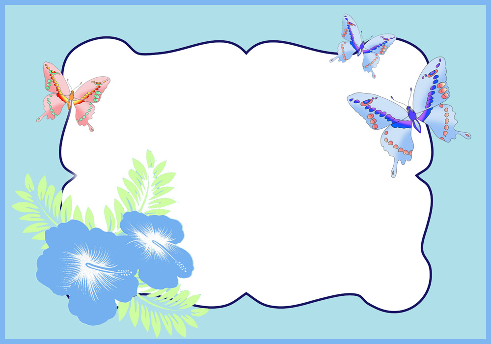 Frame clipart butterfly For to Butterfly You Border