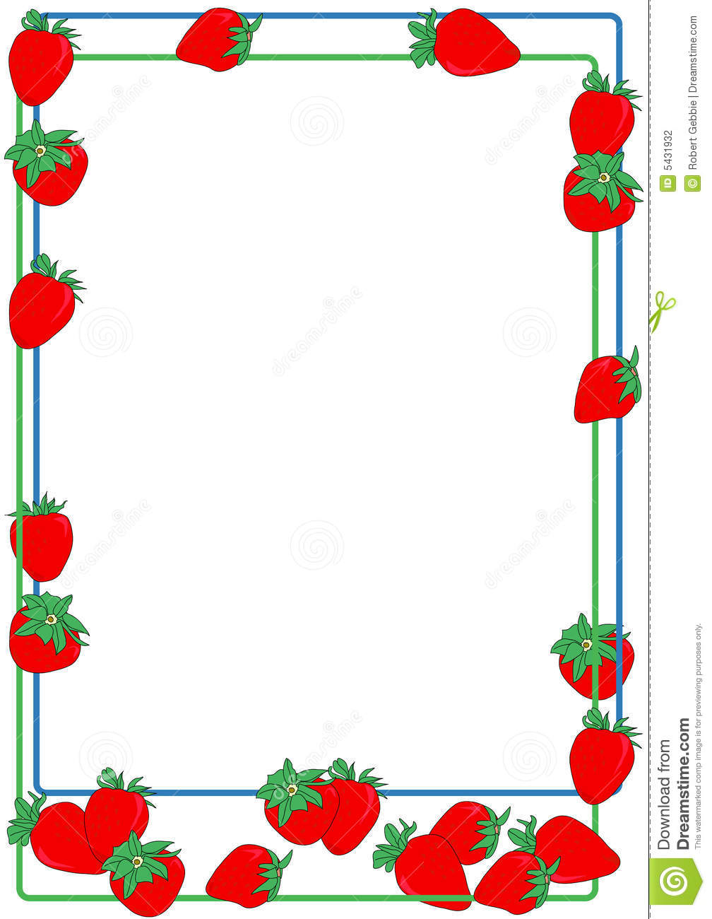 Frame clipart cake Panda Clipart Clipart Images strawberry%20clipart%20border