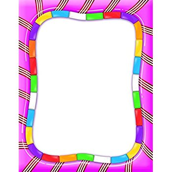 Frame clipart candy Candy This 5  Eureka