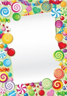 Frame clipart candy And Find Pin candy page