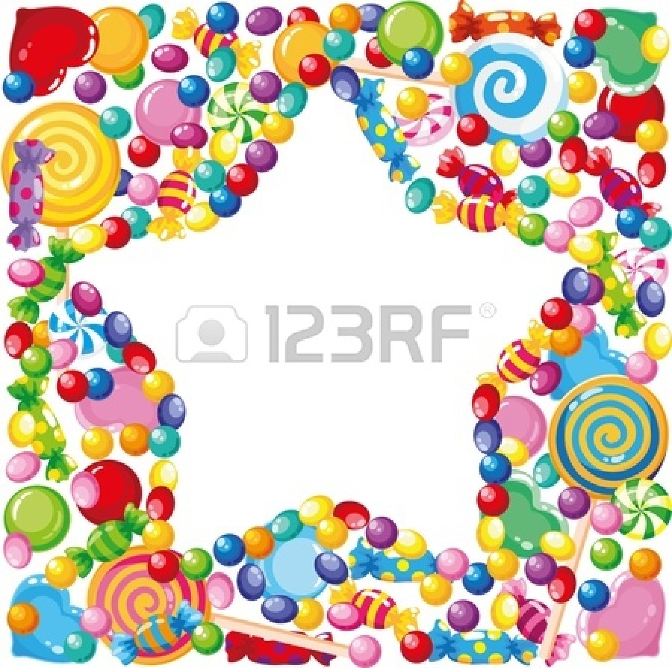 Frame clipart candy Border halloween%20candy%20border%20clip%20art Candy Clipart Halloween