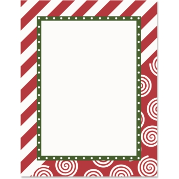 Frame clipart candy cane Papers Candy Cane Lane Border