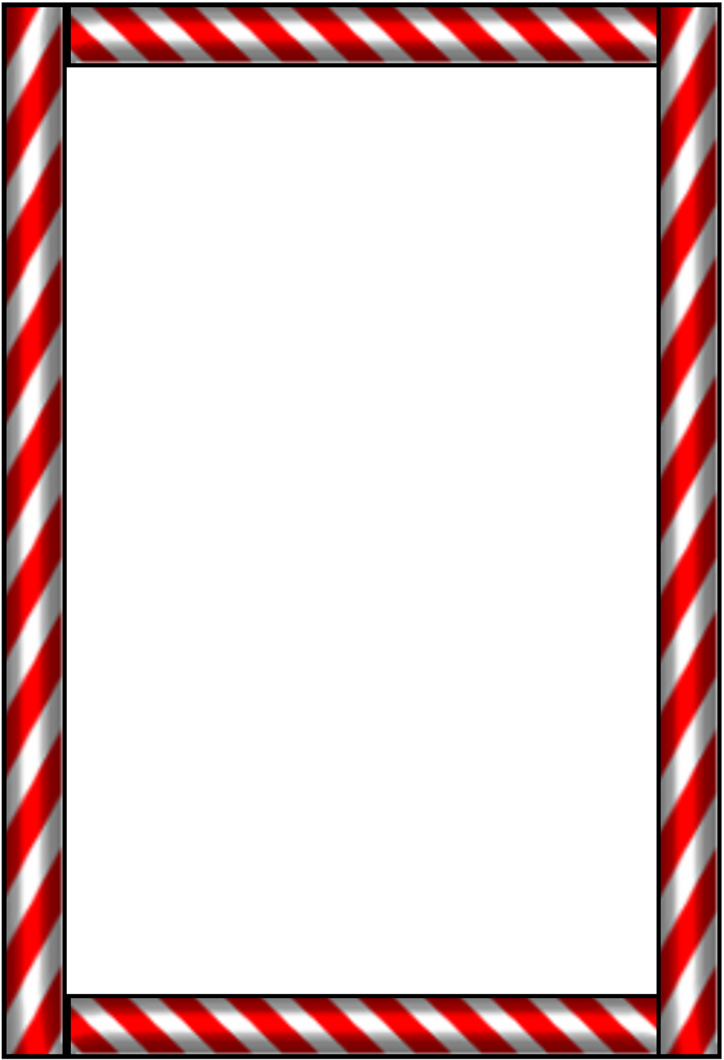 Lines clipart candy cane Art borders Google candy Christmas