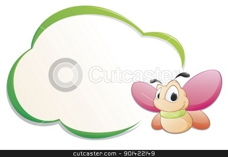 Frame clipart cartoon Butterfly Cartoon Cartoon Frame Butterfly