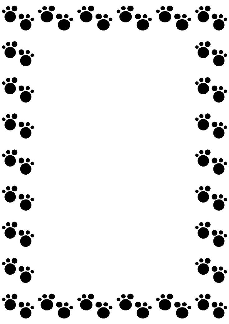 Bones clipart paw print Clip print Pinterest Paw