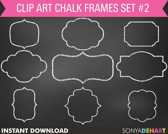 Frame clipart chalkboard Chalk 80% Chalkboard Clipart Chalkboard