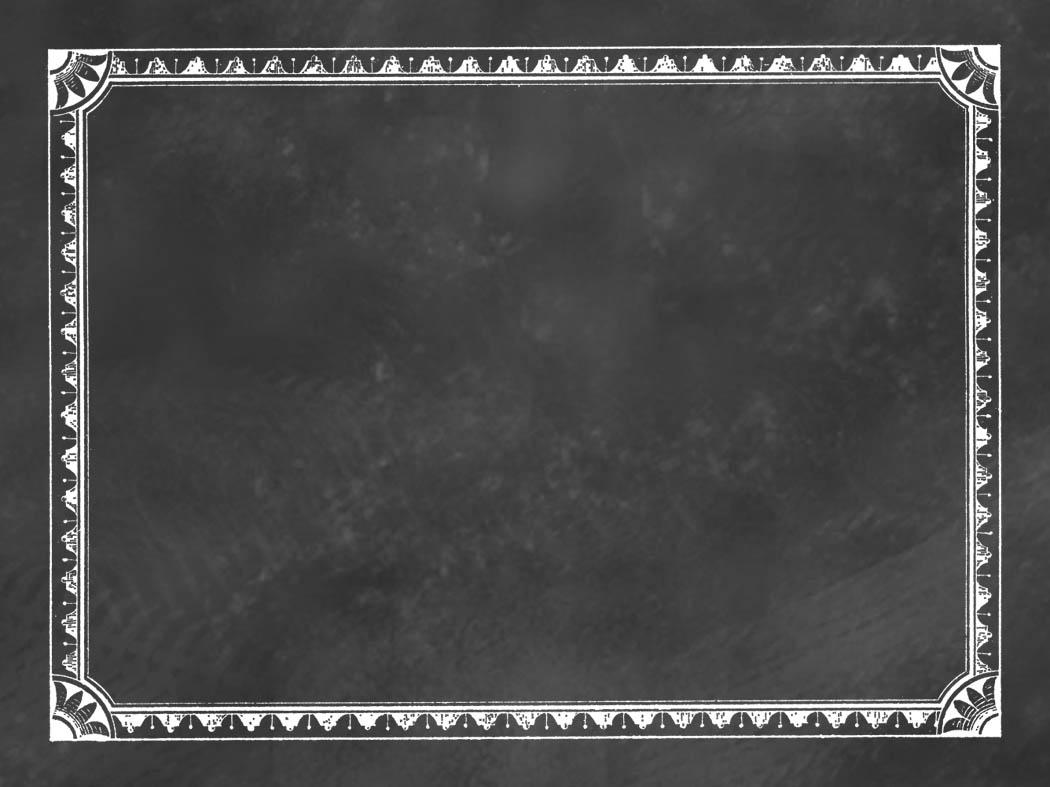 Frame clipart chalkboard Clipart Chalkboard frame Clipartix single