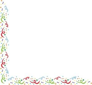 Fun clipart confetti Confetti art border clip Image: