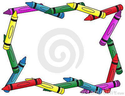 Crayon clipart boarder Clipart Border Frames Border Panda