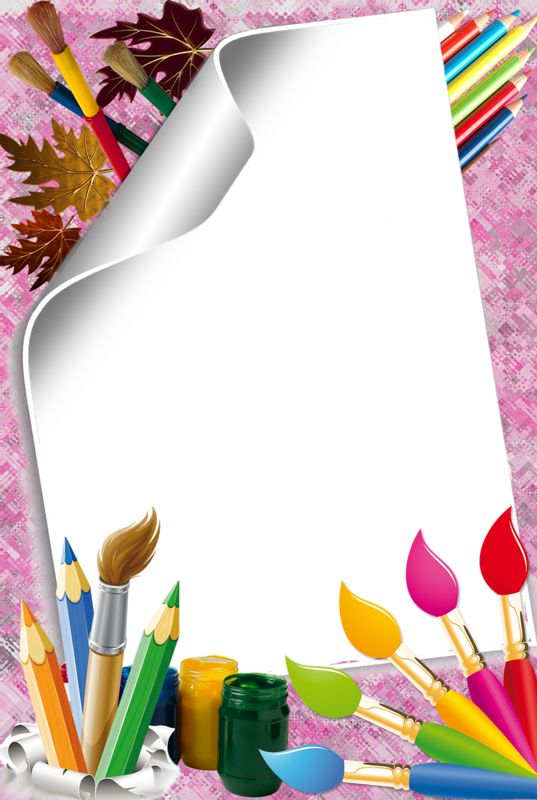 Crayon clipart page border Page crayons Pinterest BORDERS 383