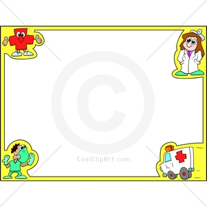 Frame clipart doctor Http Borders Clipart cps China