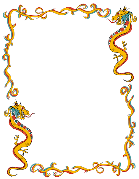 Frame clipart dragon Downloads dragon in JPG GIF
