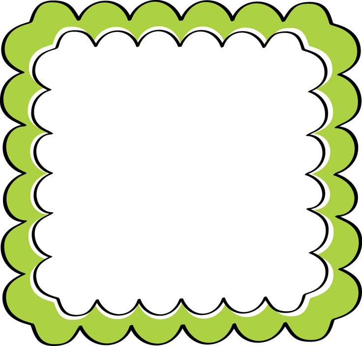 Fun clipart borders Picture  Frame Frame Free