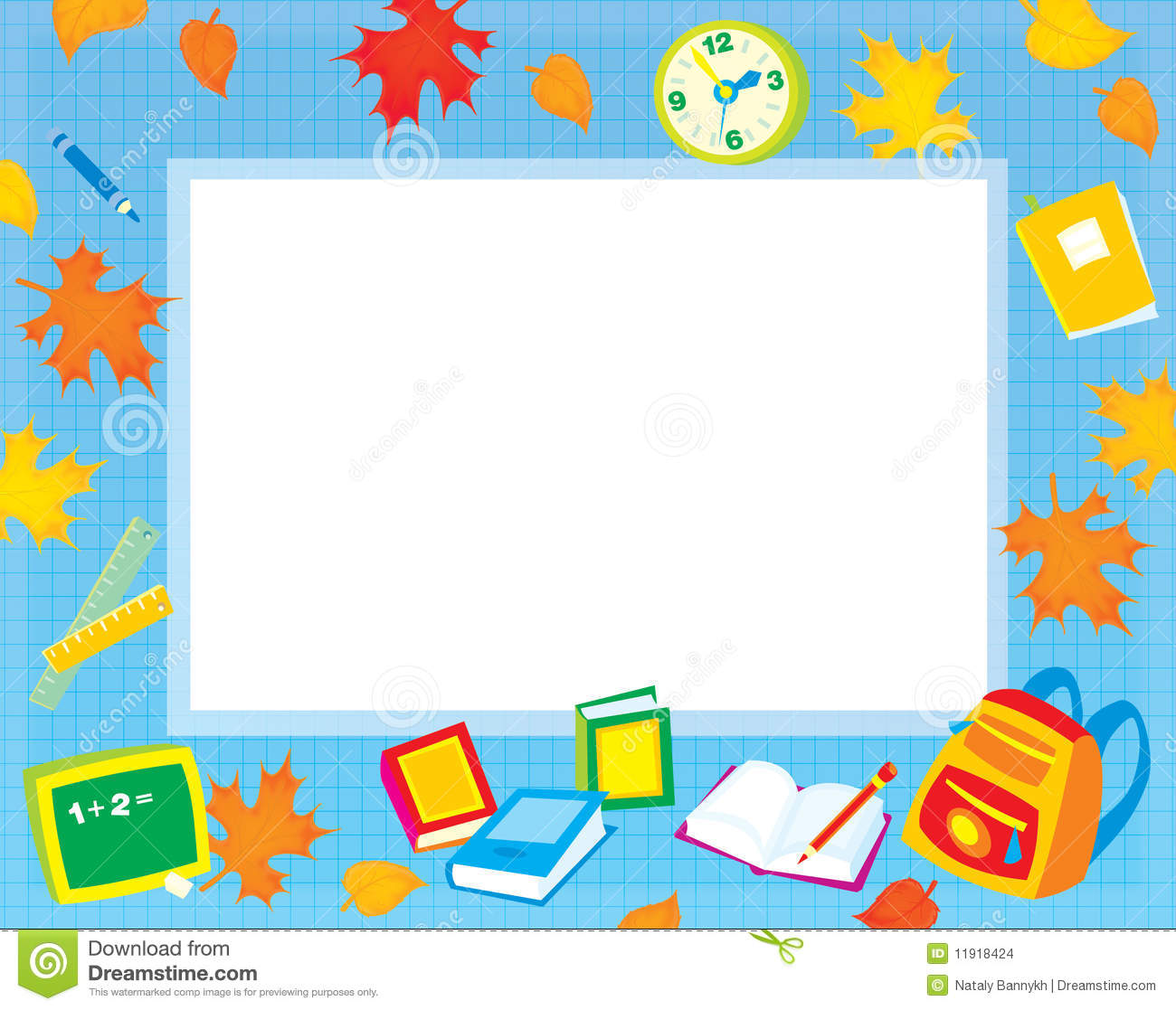 Frame clipart education Clip Educational borders Collection clipart
