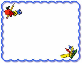 Frame clipart education Education borders clipart – education