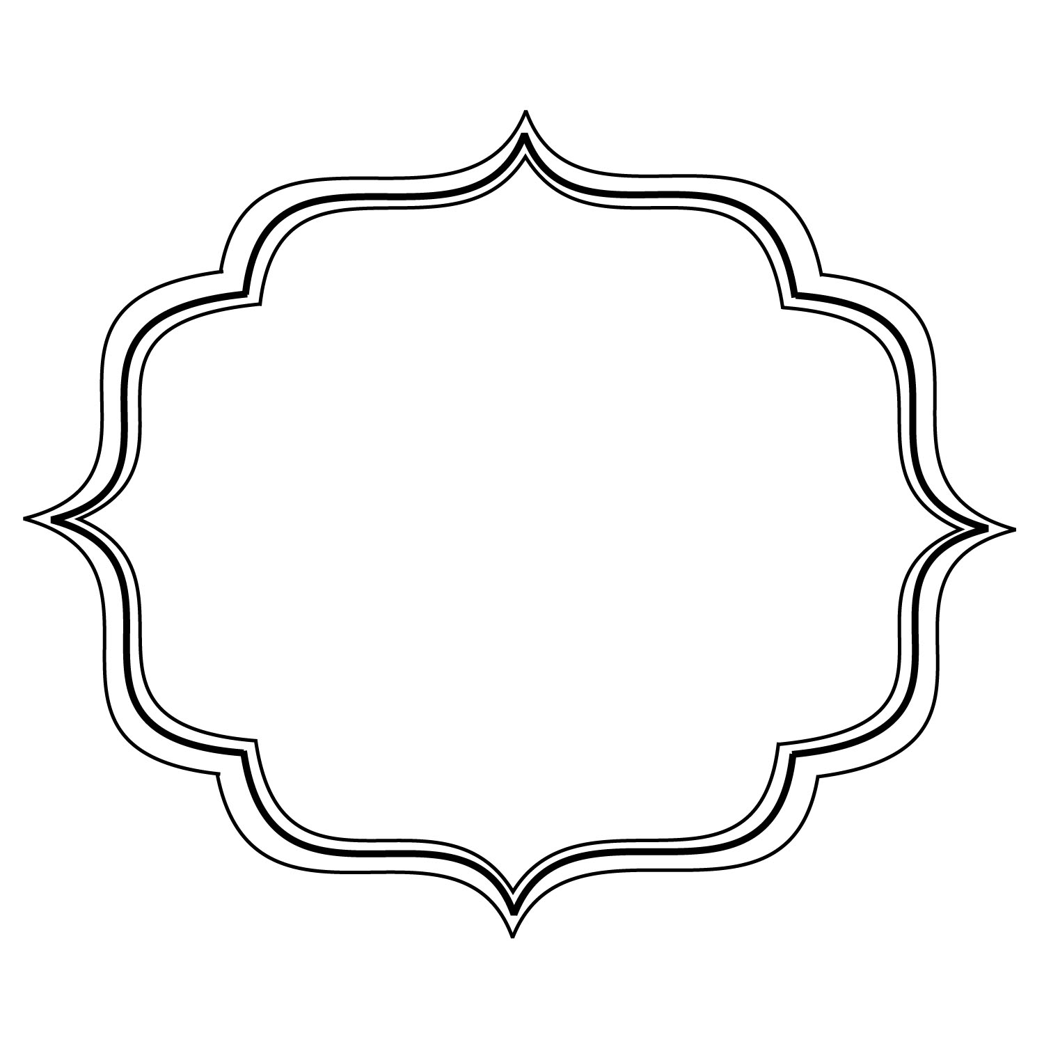 Simple clipart filigree Clip Clipart Free Download Free