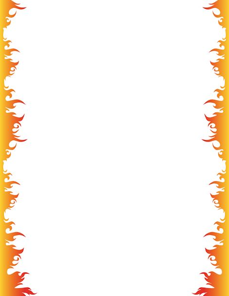 Frame clipart fire Free download 16KB Plane Fire