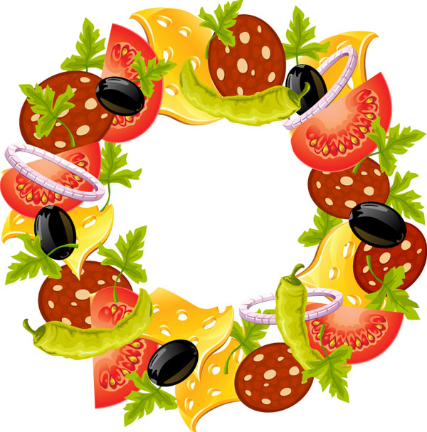 Frame clipart food Clipart food%20borders%20and%20frames Images Free Frames