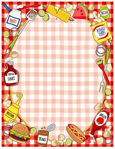 Frame clipart food Resimleri food Pinterest  Dekopaj