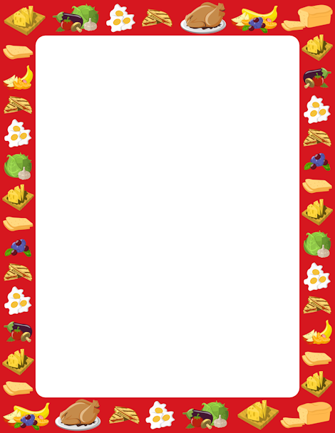 Frame clipart food Food PNG http PNG downloads
