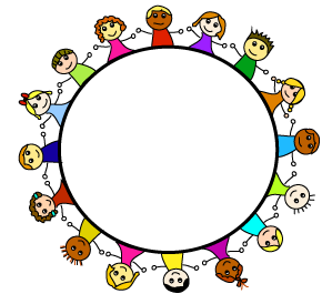 Child clipart boarder Images FRIENDSHIP child images art
