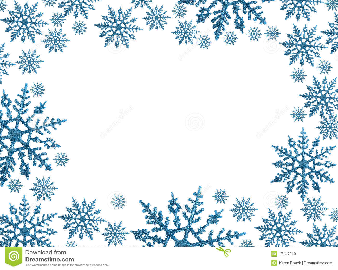 Winter clipart frame Cliparts Clipart Frame Snowflake Snowflake