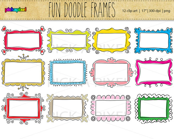 Fun clipart picture frame Fun Personal  Digital art