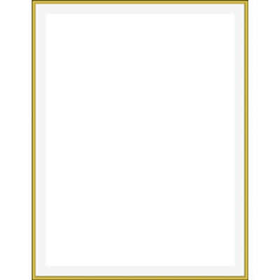 Square clipart gold frame Cliparts Art Golden  Border