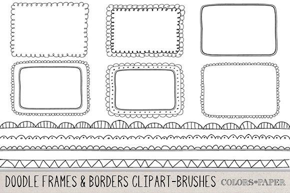 Drawn road border clip art Frames Market Creative Hand &
